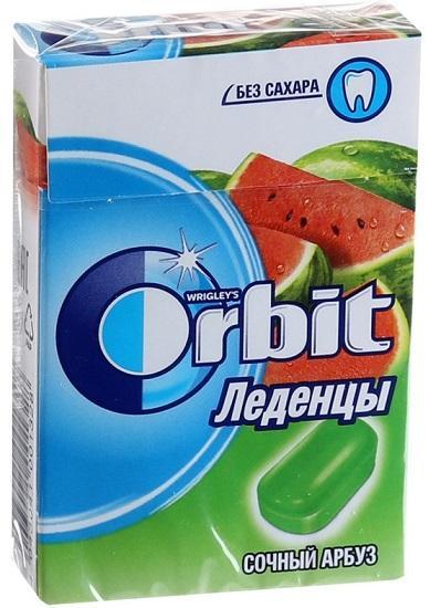 Леденцы Orbit Сочный арбуз 35г