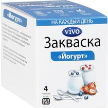 Закваска Vivo Йогурт 4 пакетика по 0,5 г