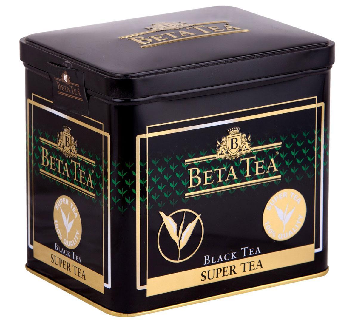 Чай Beta Tea Super Tea черный с бергамотом