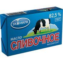 Масло Экомилк Сливочное 82,5%
