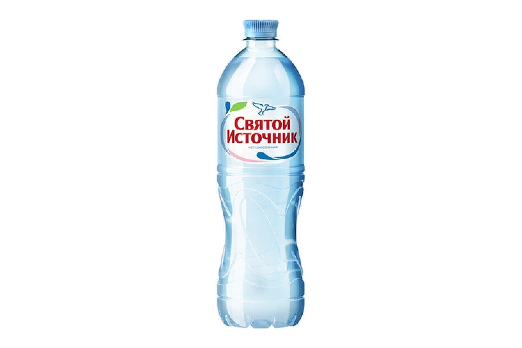 Газированная вода Святой Источник артезианская