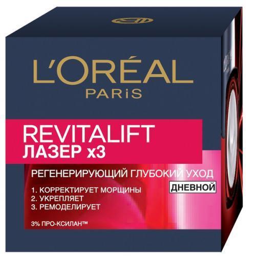 Крем L'Oreal Paris Revitalift Лазер х3 Дневной для лица