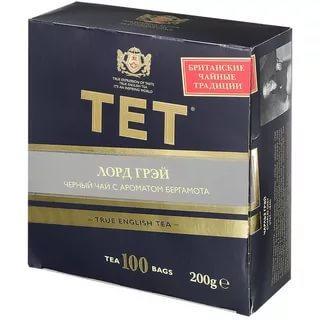 Чай ТЕТ Лорд Грей черный в пакетиках