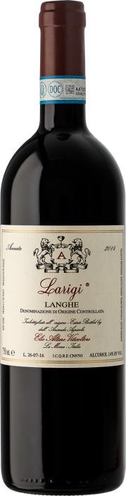 Вино Лариджи Ланге / Larigi Langhe,  Неббиоло,  Красное Сухое, Италия