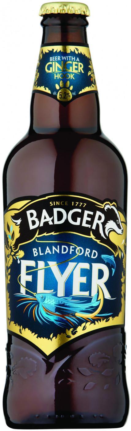 Пиво Badger Blandford Flyer 5,2%