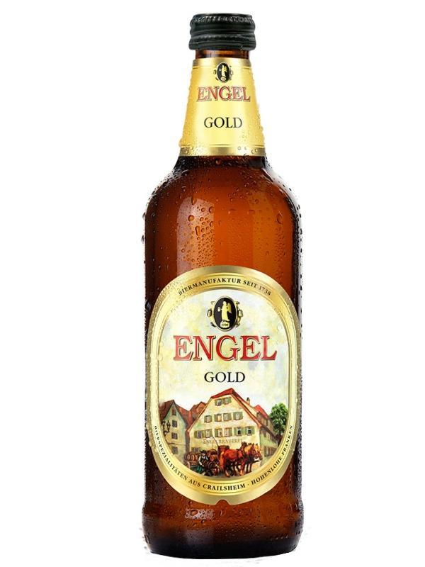 Пиво Engel Gold светлое пастеризованное фильтрованное 5,4%