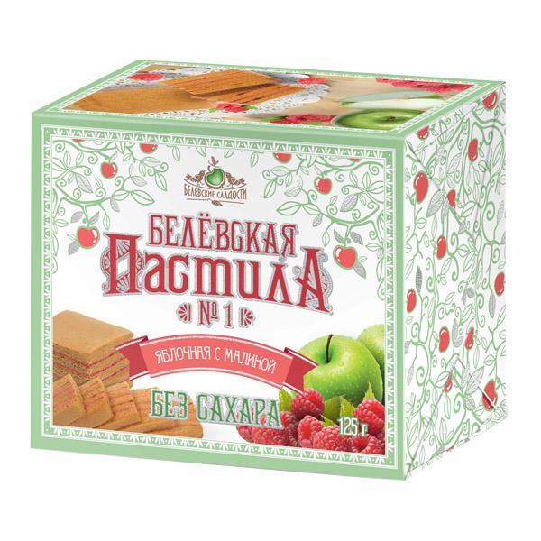 Пастила Белевские Сладости яблочная с малиной