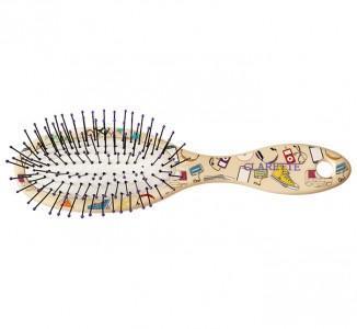 Щетка для волос Clarette Компакт с ультра тонкой пластиковой щетиной