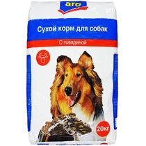 Корм для собак Aro с говядиной сухой