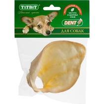 Лакомство TiTBiT Ухо телячье большое для собак