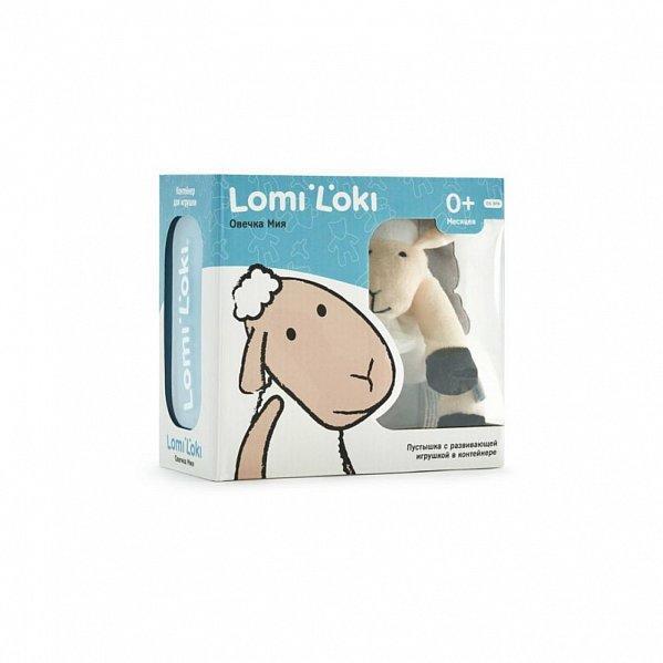 Пустышка Lomi Lokki с овечкой