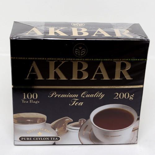 Чай Akbar Элитная серия черный с бергамотом