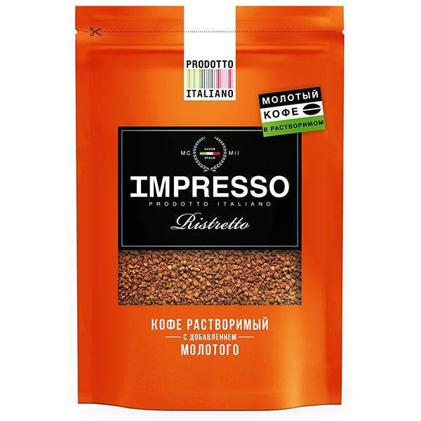 Кофе Impresso Ristretto сублимированный 100 гр