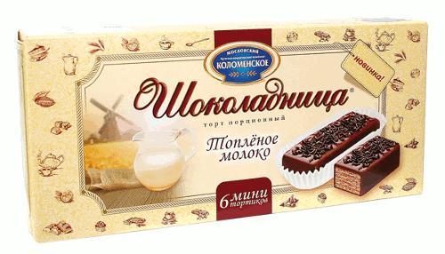 Торт Шоколадница Топлёное молоко