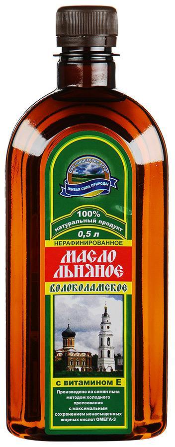 Масло Диадар Волоколамское льняное с витамином Е