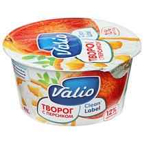 Творог Valio & Viola с персиком 3,5%