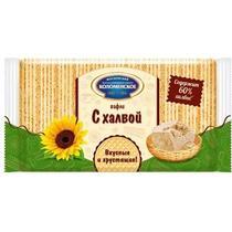 Вафли Коломенское с халвой 220 гр.