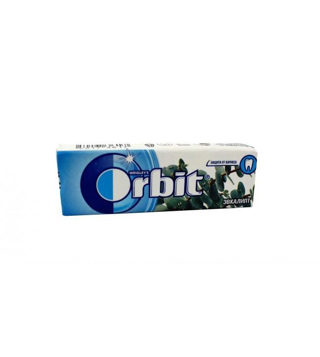 Жевательная резинка Wrigley's Orbit Эвкалипт в подушечках