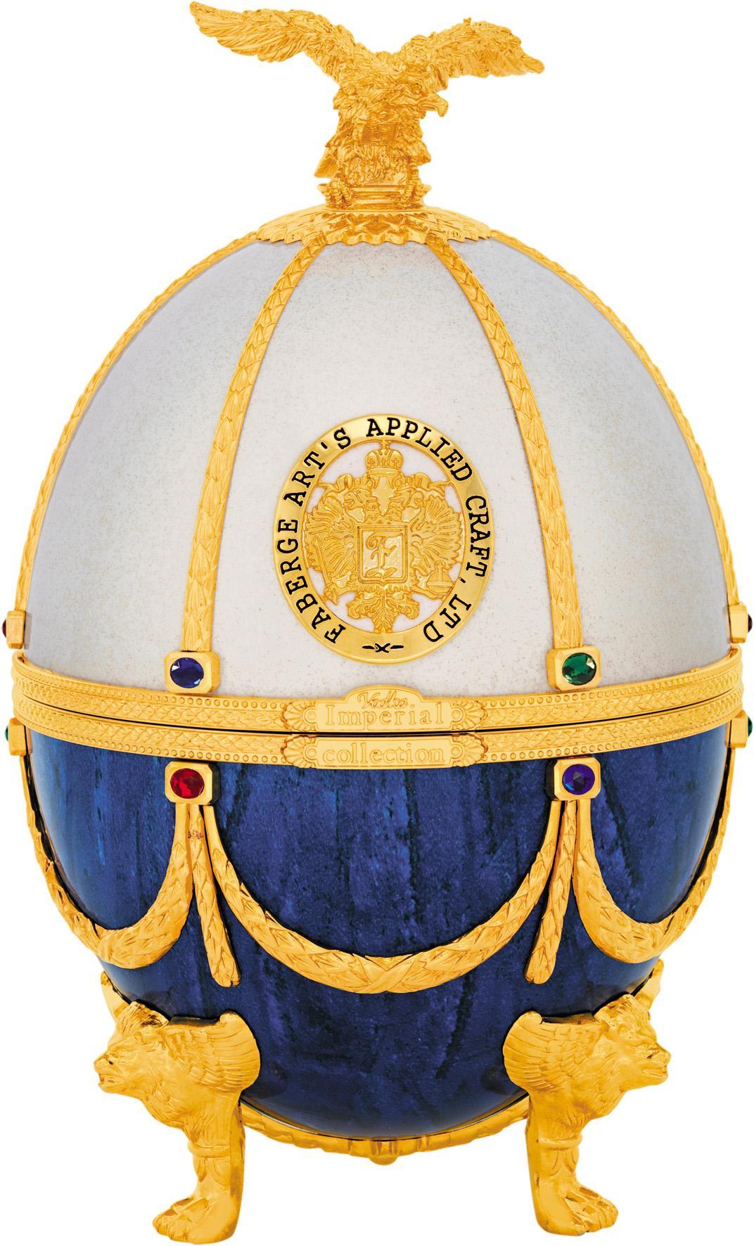 Водка Императорская коллекция Фаберже Жемчуг и Сапфир