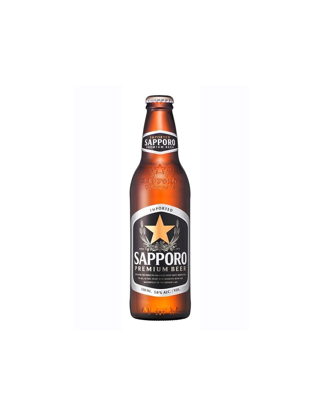 Пиво Sapporo Premium светлое 5%