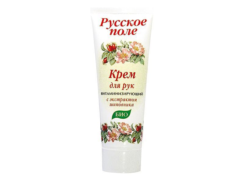 Крем для рук Русское поле Витаминизирующий с экстрактом шиповника
