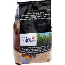 Сахар DanSukker коричневый тростниковый