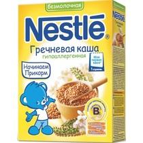 Каша Nestle безмолочная гречневая гипоаллергенная 1 ступень