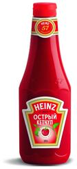 КЕТЧУП ОСТРЫЙ ПЛАСТИК 1/570 ХАЙНЦ