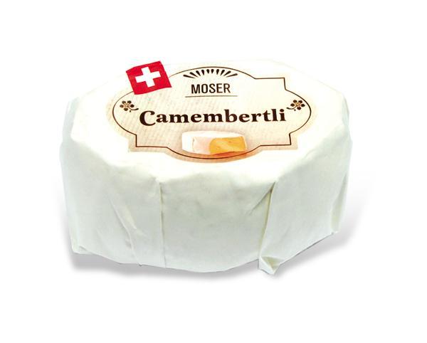 Сыр Moser Camembertli 50% Белая плесень