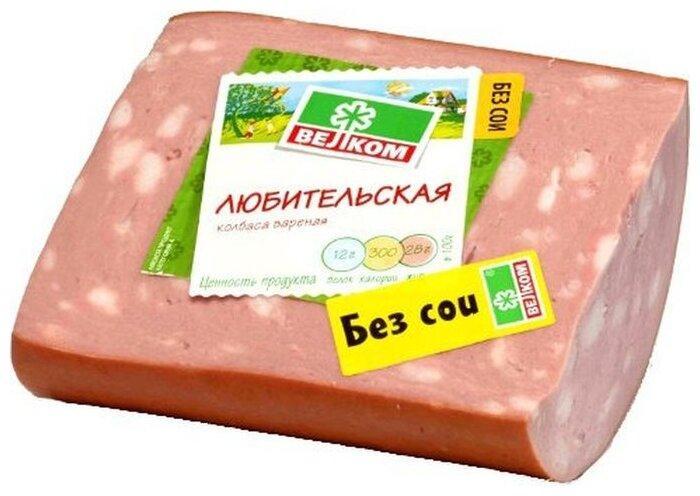 Колбаса Велком Любительская в/у кусок
