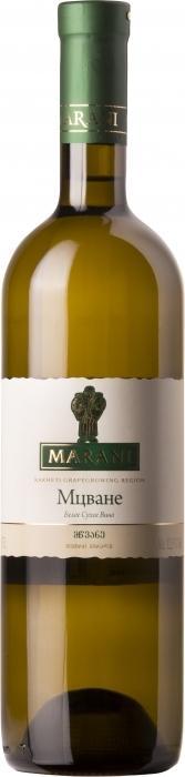 Вино Марани Мцване / Marani Mtsvane,  Мцване,  Белое Сухое, Грузия