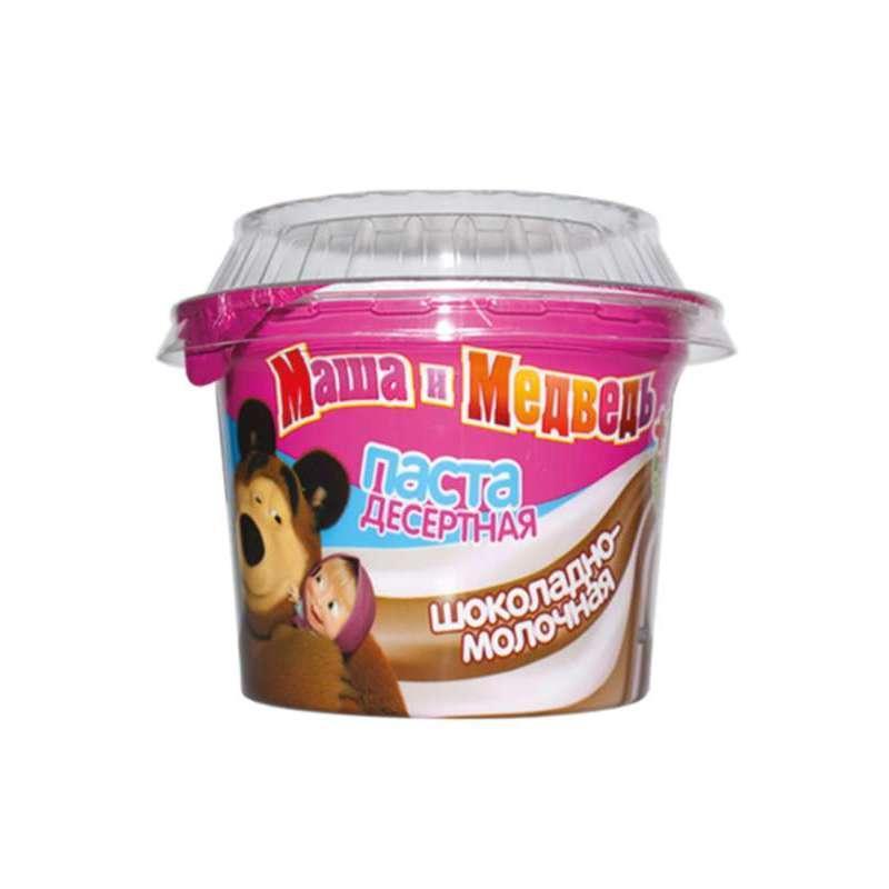 Шоколадная паста Маша и Медведь Десертная шоколадно-молочная