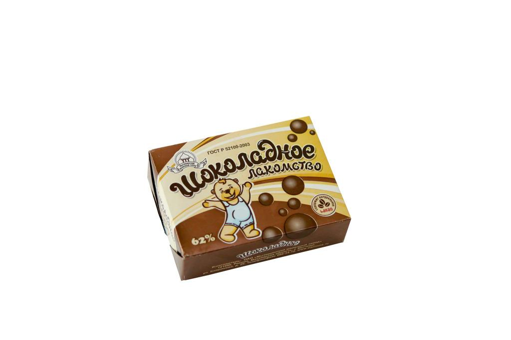 Растительно-жировой шоколадный спред Malkom Шоколадное Лакомство 62%