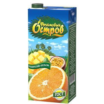 Нектар Фруктовый Остров Тропический апельсин