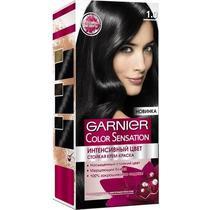Стойкая крем-краска для волос Garnier Color Sensation 1.0 Драгоценный черный агат