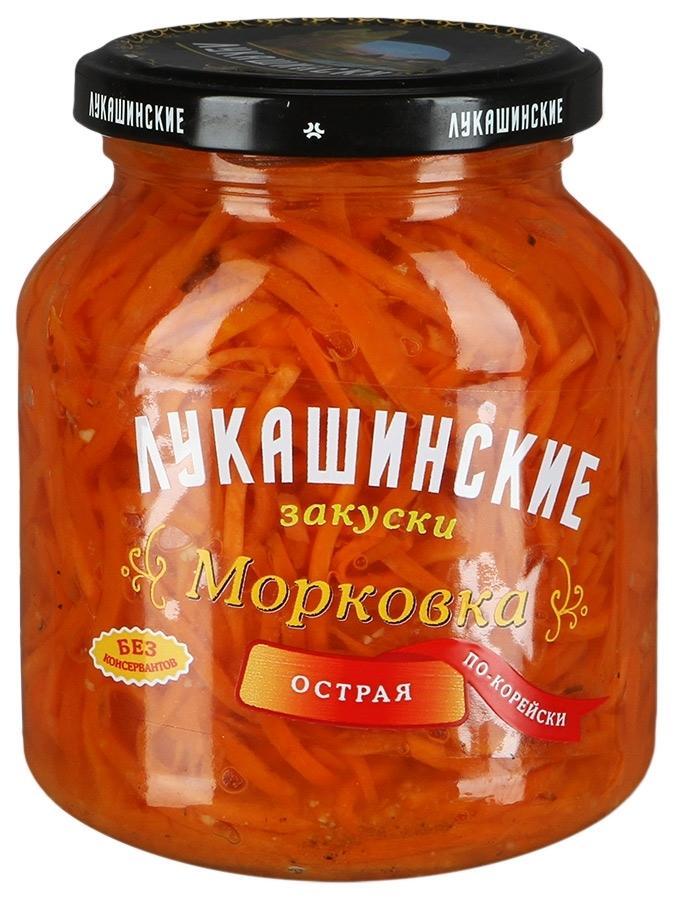 Морковка Лукашинские Острая По-корейски