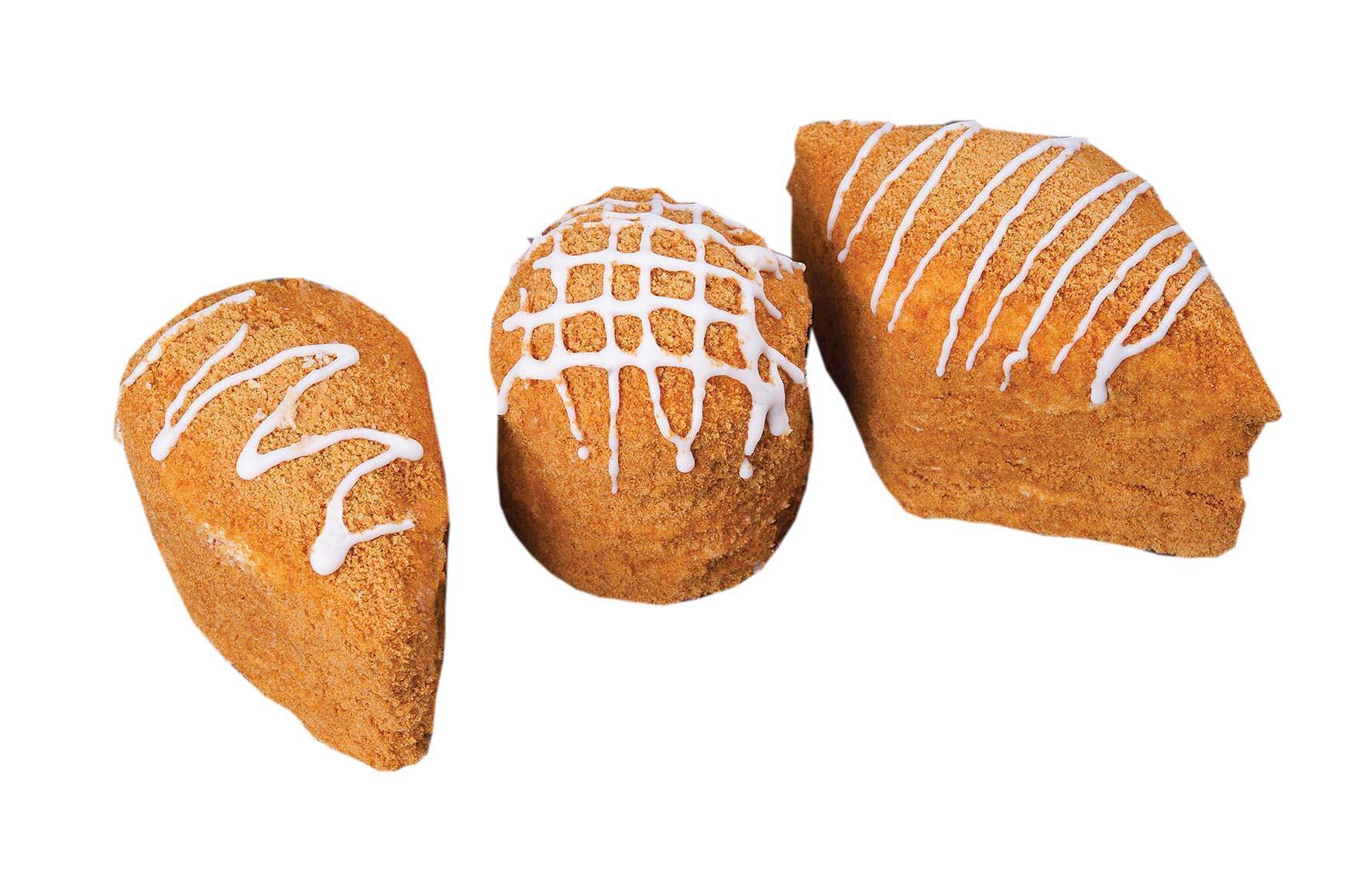 Пирожные Слоянка Медовые крошки в креме КРУ