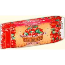 Кекс Хлебный Дом Ягодное лукошко с брусничной начинкой 140 гр