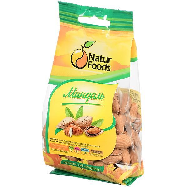 Миндаль Natur Foods очищенный сырой