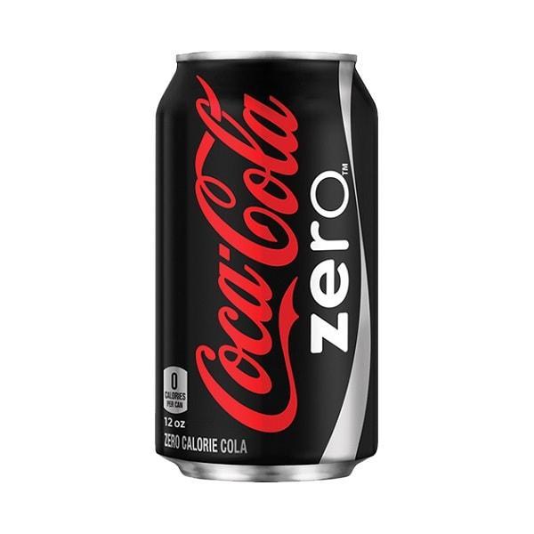 Газированный напиток Coca-Cola Zero 355 мл., ж/б