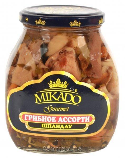 Овощная консерва Mikado Ассорти грибное