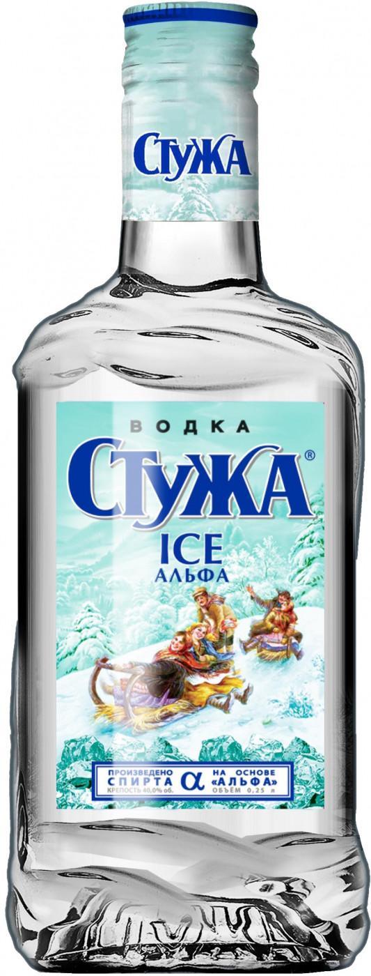 Водка Стужа Ice Альфа 40%