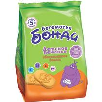 Печенье Бегемотик Бонди Обогащенное йодом с 5 месяцев