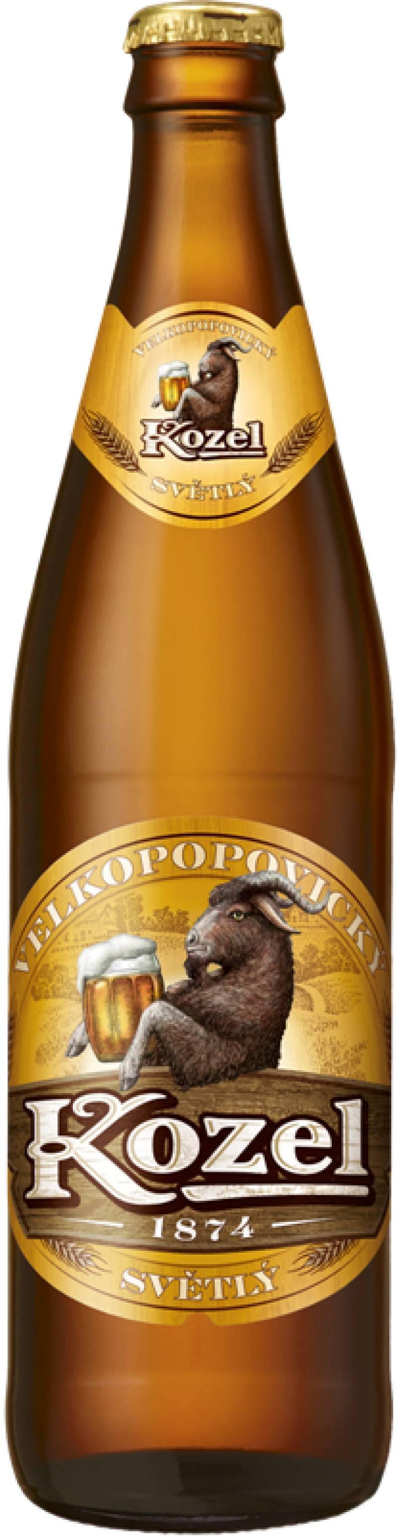 Пиво Козел Велкопоповицкий светлое