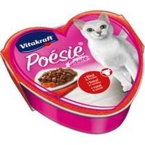 Корм Vitakraft для кошек Poesie говядина-морковь в соусе