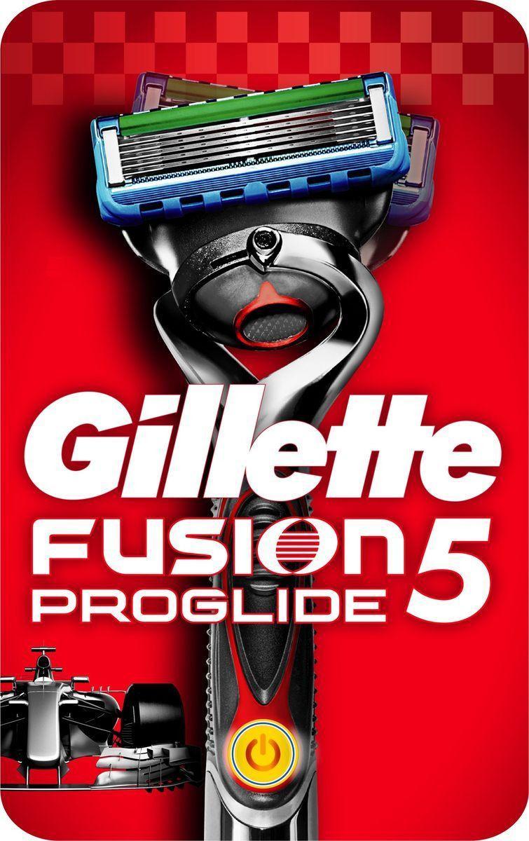 Бритвенный станок Gillette Fusion5 Proglide Power, с 1 сменной кассетой