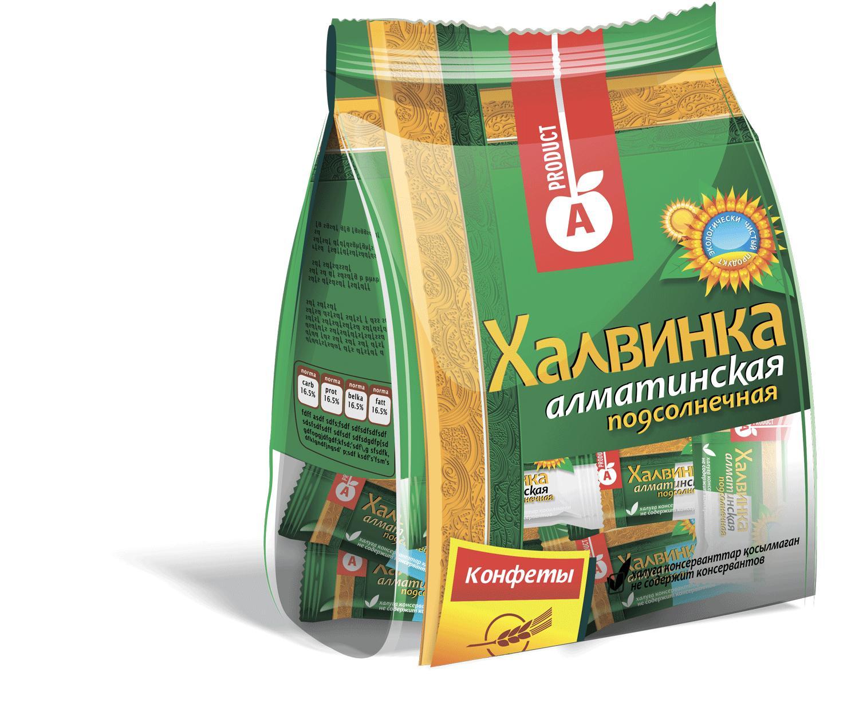 Халва Алматинский продукт Халвинка Алматинская Подсолнечная