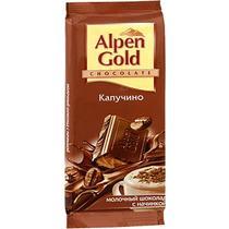 Шоколад Alpen Gold молочный капучино