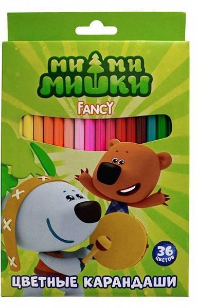 Набор карандашей Fancy цветных европодвес 36 цветов