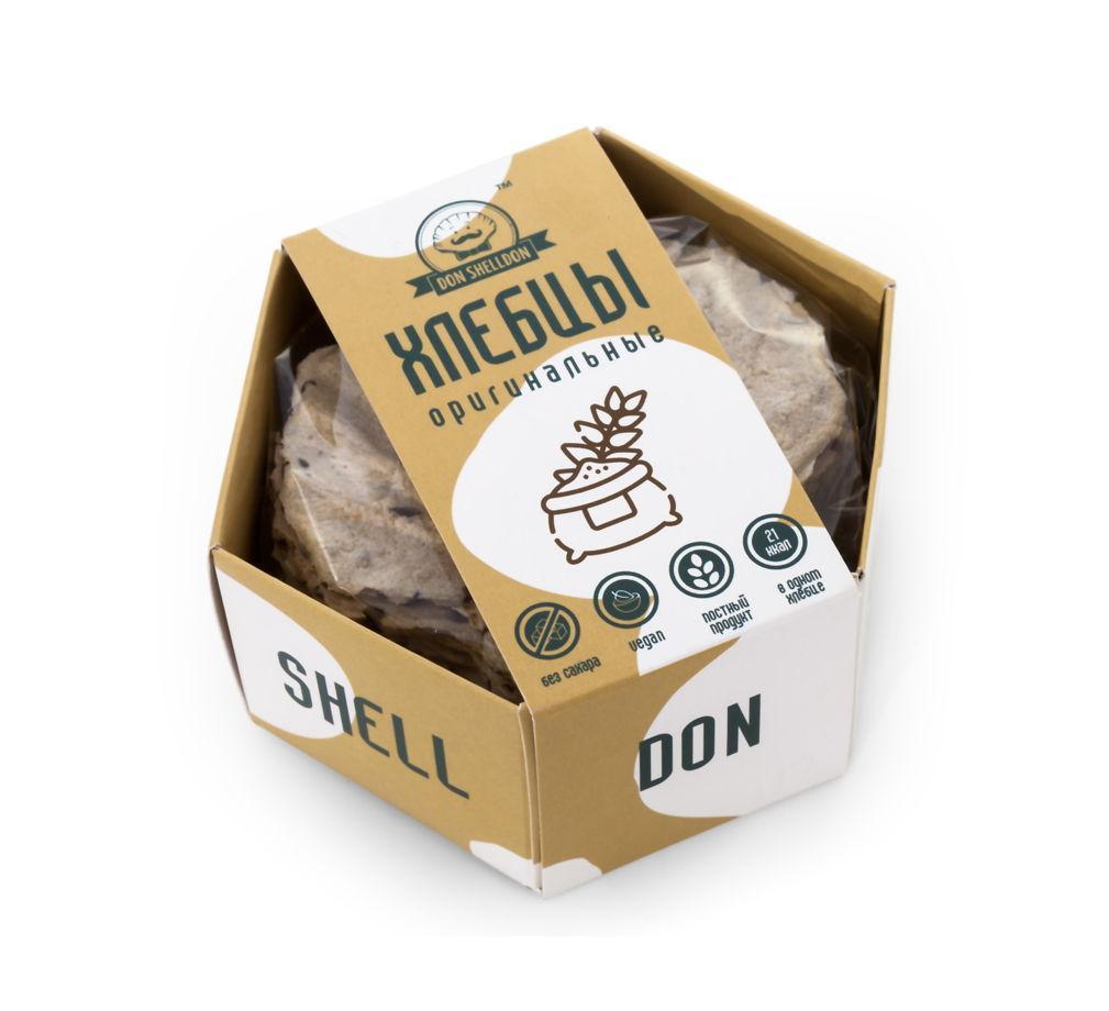 Хлебцы Don Shelldon отрубные Оригинальные